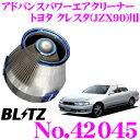 【4/18はP2倍】BLITZ ブリッツ No.42045 トヨタ クレスタ(JZX...