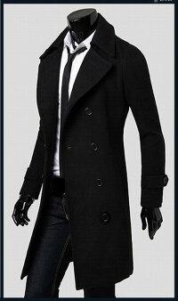 コートアウターピーコートビジネスコートPコートロングビジネスメルトン紳士カジュアルアウターミドルノッチドラペルメンズファッションジャケットきれいめ大人モード