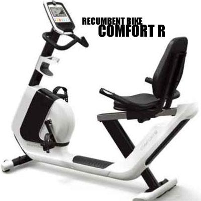 ジョンソンヘルステック(Johnson Health Tech) HORIZON リカンベントバイク COMFORT R + YHZM0007 (専用マット付き)【代引不可】コンフォートR:クレスコ