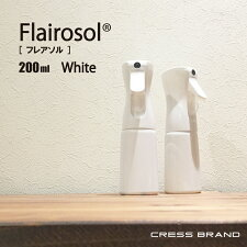 FLAIROSOL(白)350ml[スプレー:白/ボトル:白][容量:350mlPET製/光沢仕上げ]