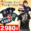 豊天商店デザインTシャツ3点ハッピーバッグ通常6000円以上が2980円