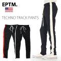 【送料無料】EPTM【ライントラックパンツ】ジャージパンツ【MADEINUSA】ラインパンツロングパンツB系ヒップホップストリート系メンズLLL2L3L4L5LエピトミLINETRUCKPANTSスリム