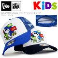 【おまけ付き】ニューエラキッズ【ウォーリーをさがせ】コラボスナップバックキャップ9FIFTYWHERE'SWALLY?Kid'sNEWERA子供用子供サイズインディゴデニムボーダー帽子サイズ調整可フリーサイズNEWERAキャラクターKIDSストレートキャップ11448081