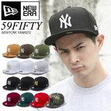 【送料無料】ニューエラ キャップ NEW ERA CAP NY ニューヨークヤンキース NEWERA サイズあり ランキング上位 59FIFTY 帽子 大きいサイズ MLB ベースボールキャップ 定番 ベーシック ストレートキャップ 5950【親子ペア2】