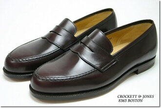 Crockett & Jones loafer Boston Burgundy ( CROCKETT JONES BOSTON BURGUNDY CAVALRY CALF ) 10P28oct13