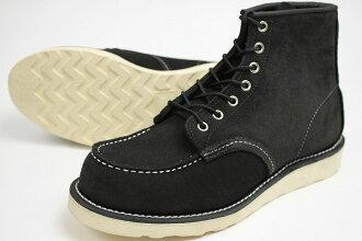 REDWING RW-8874 ( Red Wing モックトゥ Black Suede ) 10P28oct13