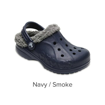 【クロックス公式】クロックス(crocs)バヤ ラインド キッズ Baya Lined / クロッグ サンダル ボア付 冬用 定番 アウトレット outlet