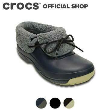 【クロックス公式】クロックス(crocs)ブリッツェン ラックス コンバーチブル クロッグ / スニーカー ブーツ シューズ ボア付 冬用 レディース メンズ【P5】