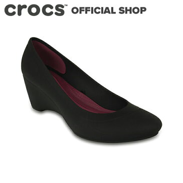 【クロックス公式】リナ ウェッジ ウィメン Lina Wedge / crocs パンプス レディース 【PR2】