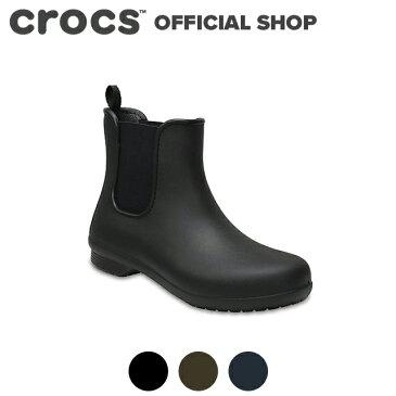 【クロックス公式】クロックス(crocs)フリーセイル チェルシー ブーツ ウィメン / レディース レインブーツ