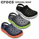 【クロックス公式】デュエット スポーツ クロッグ Duet Sport Clog / crocs サンダル レディース メンズ 定番 アウトレット outlet 【PR1】・・・