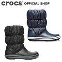 【クロックス公式】ウィンター パフブーツ ウィメン Winter Puff Boot / crocs レディース ブーツ アウトレット outlet 【OL】の商品画像