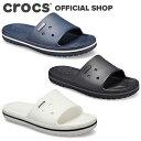 【クロックス公式】クロックバンド 3.0 スライド Crocband 3.0 Slide / crocs レディース メンズ サンダル スポーツサンダル【NO】の商品画像