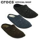 【クロックス公式】クラシック スリッパ Classic Slipper / crocs 室内用 冬用 ボア付き レディース メンズ【NO】