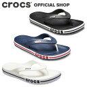【クロックス公式】バヤバンド フリップ Bayaband Flip / crocs ビーチサンダル レディース メンズ アウトレット outlet 【OL】の商品画像