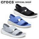 【クロックス公式】ライトライド ストレッチ サンダル ウィメン Literide Stretch Sandal / crocs レディース【OL】