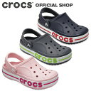 crocs クロックス CROCBAND CLOG K キッズサンダル(クロックバンドキッズ) 204537 3TV ディープグリーン/プレップブルー