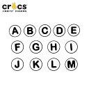 ジビッツ(jibbitz) アルファベット(A-M)(Alphabet A-M) クロックス/シューズアクセサリー/イニシャル[BLU][C/A-2]