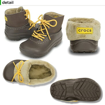 【35%OFF】クロックス(crocs) ブリッツェン コンバーチブル キッズ(blitzen convertible kids)/キッズ/ボア/ブーツ/シューズ/子供用/子供靴/ベビー/[r][C/A]