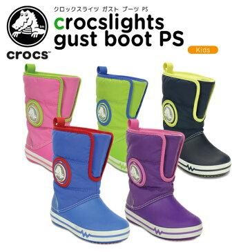 【30%OFF】クロックス(crocs) クロックスライツ ガスト ブーツ PS(crocslights gust boot PS) /キッズ/ブーツ/シューズ/子供用[r][C/B]【ポイント10倍対象外】
