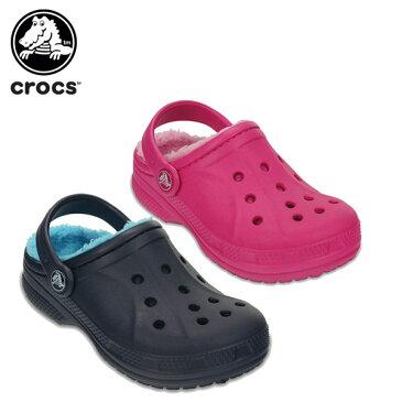 【34%OFF】クロックス(crocs) クロックス ウィンター クロッグ キッズ(crocs winter clog kids)/キッズ/サンダル/シューズ/子供用[r][C/A]【ポイント10倍対象外】