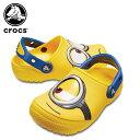 【25%OFF】クロックス(crocs) クロックス ファン ラブ ミニオンズ クロッグ キッズ(crocs fun lab Minions clog kids) キッズ/サンダル/シューズ/子供用[H][C/A]【ポイント10倍対象外】
