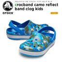 クロックス(crocs) クロックバンド カモ リフレクト ...