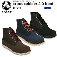 クロックス(crocs)クロックスコブラー2.0ブーツメン(crocscobbler2.0bootmen)/メンズ/男性用/ブーツ/シューズ/【あす楽対応】