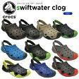 【30%OFF】クロックス(crocs) スウィフトウォーター クロッグ(swiftwater clog) /メンズ/男性用/サンダル/シューズ/[r][C/B]【ポイント10倍対象外】