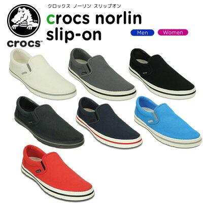 クロックス(crocs) クロックス ノーリン スリップオン(crocs norlin slip-on) /メンズ/レディース/男性用/女性用/スニーカー/シューズ/【あす楽対応】