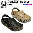 クロックス(crocs) クロックバンド レオパード クロッグ(crocband leopard clog) /メンズ/レディース/男性用/女性用/サンダル/シューズ/【20】[r]
