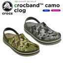 クロックス(crocs) クロックバンド カモ クロッグ(c...
