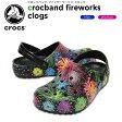【20%OFF】クロックス(crocs) クロックバンド ファイヤーワークス クロッグ(crocband fireworks clogs) /メンズ/レディース/男性用/女性用/サンダル/シューズ/[r]