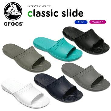 【33%OFF】クロックス(crocs) クラシック スライド(classic slide) /メンズ/レディース/男性用/女性用/サンダル/シューズ/[H][r][C/B]【ポイント10倍対象外】