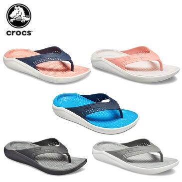 クロックス(crocs) ライトライド フリップ(literide flip) メンズ/レディース/男性用/女性用/サンダル/シューズ[C/B]