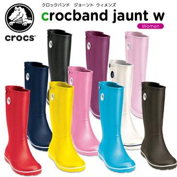 クロックス(crocs) クロックバンド ジョーント ウィメンズ (crocband jaunt womens) /レディース/女性用/シューズ/ブーツ/長靴/[r][C/D]【40】【ポイント10倍対象外】