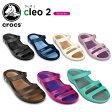 クロックス(crocs) クレオ 2 (cleo 2) レディース(女性用) /レディース/女性用/サンダル/シューズ/【ポイント10倍対象外】[r]【40】