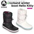 クロックス(crocs) クロックバンド ウィンターブーツ・ハローキティ (crocband winter boot Hello Kitty) /レディース/ブーツ/[r][C/B]【50】【ポイント10倍対象外】