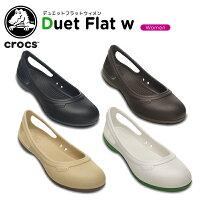 クロックス(crocs)デュエットフラットウィメン(duetflatw)/レディース/女性用/シューズ/フラットシューズ/