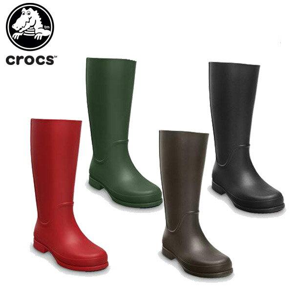 対象外  70%OFF クロックス(crocs)ウェリーレインブーツウィメンズ(wellierainbootw)レディース/女