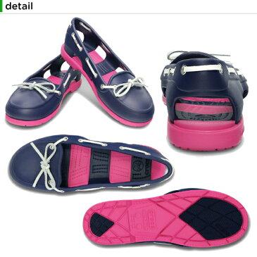 【40%OFF】クロックス(crocs) ビーチライン ボート シュー ウィメン (beach line boat shoe w)/レディース/女性用/サンダル/シューズ/フラットシューズ/[r][C/A]【ポイント10倍対象外】