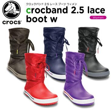 【50%OFF】クロックス(crocs) クロックバンド 2.5 レース ブーツ ウィメン(crocband 2.5 lace boot w)/レディース/ブーツ/ウィンターブーツ/[r][C/C]【ポイント10倍対象外】