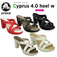 【30%OFF】クロックス(crocs) サイプラス 4.0 ヒール ウィメン(cyprus 4.0 heel w) /レディース/女性用/ヒール/シューズ/[r]【ポイント10倍対象外】