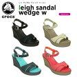 クロックス(crocs) レイ サンダル ウェッジ ウィメン(leigh sandal wedge w) /レディース/女性用/ヒール/シューズ/[r][C/B]【15】【ポイント10倍対象外】