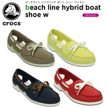 クロックス(crocs) ビーチライン ハイブリッド ボート シュー ウィメン (beach line hybrid boat shoe w)/レディース/女性用/サンダル/シューズ/フラットシューズ/[r][C/A]【30】【ポイント10倍対象外】