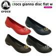クロックス(crocs) クロックス ジアンナ ディスク フラット ウィメン(crocs gianna disc flat w ) /レディース/女性用/シューズ/フラットシューズ/【20】[r]