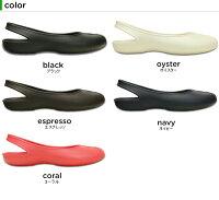 クロックス(crocs)オリビア2.0フラットウィメン(olivia2.0flatw)/レディース/女性用/シューズ/フラットシューズ