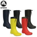 【20%OFF】クロックス(crocs) クロックス フリーセイル レイン ブーツ ウィメン(crocs freesail rain boot w) レディース/ブーツ[C/C]の商品画像