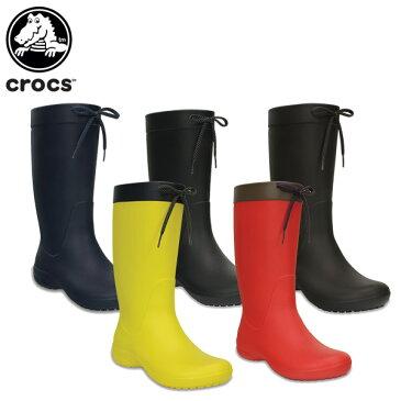【31%OFF】クロックス(crocs) クロックス フリーセイル レイン ブーツ ウィメン(crocs freesail rain boot w)/レディース/ブーツ[r][C/C]【ポイント10倍対象外】