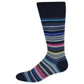 カルバン・クライン Calvin Klein Striped Barcode Sock 【あす楽対応_関東】 【あす楽対応_甲信越】 【あす楽対応_北陸】 【あす楽対応_東海】 【あす楽対応_近畿】/正午まで当日発送/土日祝日不可